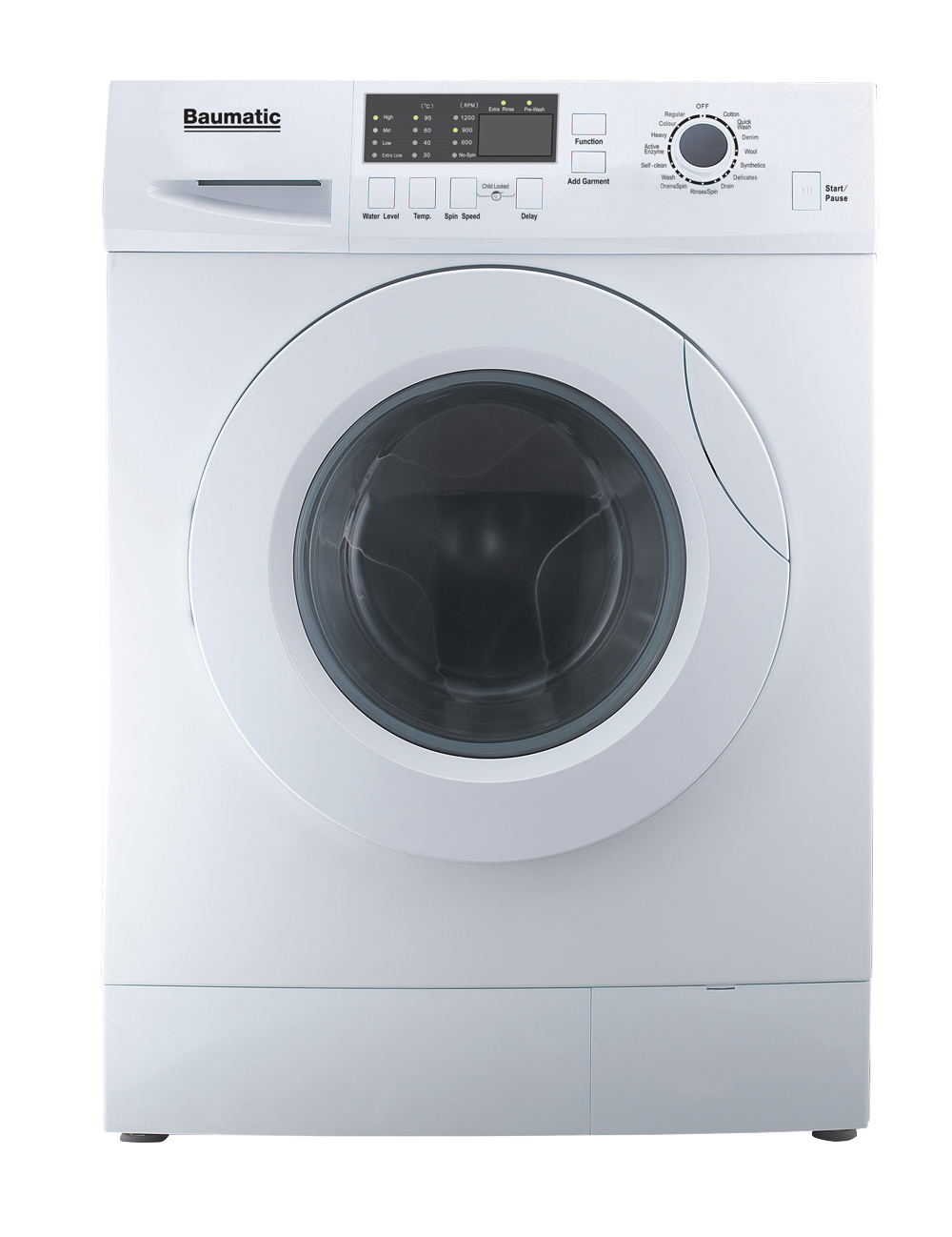 7 5kg Front Load Washer Bflw75 Venini